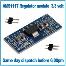 AMS1117 3.3 LDO DC 5V to 3.3V Step-Down Converter Voltage Regulator Module