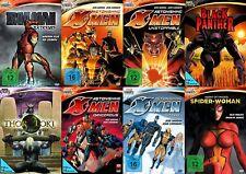 8 MARVEL KNIGHTS Mega Colección IRON MAN X-MEN SPIDER WOMAN THOR LOKI DVD NUEVO