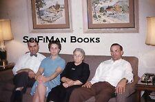 KODACHROME 35mm Slide Pretty Women Handsome Men Bow Tie Sofa Fashion 1960!!!
