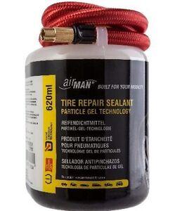 AirMan Universal Tyre Sealant - 620ml Valve Through System Mobility Gel