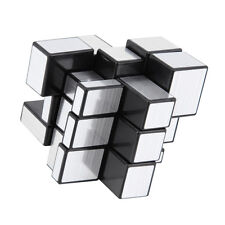 New 3 x 3 x 3 Magic Cube Puzzle Ruler Mirror Intelligence Game Kids Toy SX