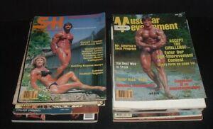 LQQK 16 vintage 1970s-2000, MUSCLE MAGAZINES, classic physique, ironman, etc.