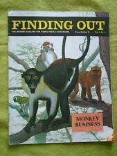 FINDING OUT / VOL 9 #5 / MONKEY BUISINESS / THE DARLING MISS BELL