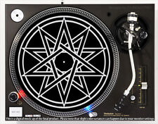 10-Point Geometry - Dj Slipmat 1200's or any turntable, record player