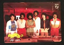 1985 ALLEYCATS Malaysian Band PolyGram Records official postcard used