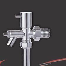 15 mm Conexión del Tubo-cromo de drenaje apagado Radiator & Toallero De Válvula (SINGLE)