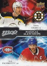 2018-19 Upper Deck MVP Magical Matchups #1 Zdeno Chara, Max Pacioretty