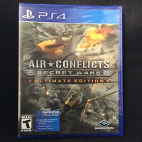 Air Conflicts: Secret Wars Ultimate Edition (Sony PlayStation 4, 2017)