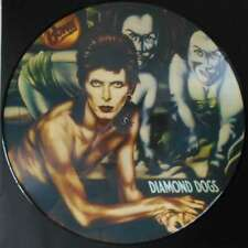 David Bowie Diamond Dogs LP  Picture Disc Repress