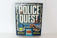 COMMODORE AMIGA Police Quest 2 The Vengence RARE COMPLETE all manuals 3 discs