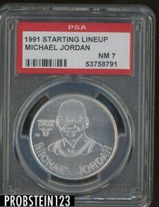 1991 Starting Lineup Michael Jordan Chicago Bulls HOF PSA 7 NM
