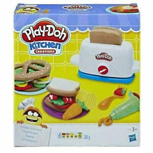 Play-Doh Kitchen Toaster Creations Suitable For Ages 3 And Up