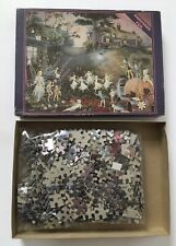 Vintage Embossed Fairy Puzzle Bottom Of The Garden Fairy 700 Pieces
