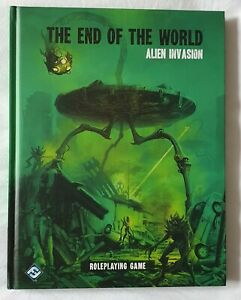 End Of The World Alien Invasion RPG Fantasy Flight