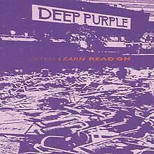 Escuchar, Aprender, Leer por Deep Purple CD ( CD) Condición buena