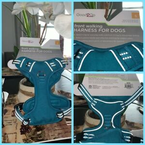 🐶Good2Go Front Walking Dog Harness Blue/Gray Small Chest 16-19in {New}🐶