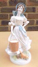 Royal Worcester estatuilla de edición limitada-el Milkmaid