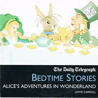 Alice's Adventures In Wonderland Read By Fiona Shaw Bedtime Stories Audio CD N/P