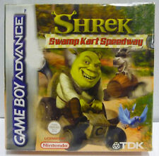 SHREK SWAMP KART SPEEDWAY - NINTENDO GAME BOY ADVANCE GBA BOXED