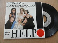 """DISQUE 45T DE  BANANARAMA   """" HELP  """""""