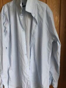Blue Mens Smart Suit Shirt BN small Mans Slim Fit