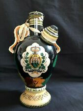 Antique Marmaca San Marino Handpainted Landscape sealed liqueur bottle . Marked
