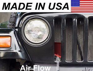 AVT Air Intake Scoop 1997-2006 Jeep Wrangler TJ 2.5 / 4.0 r + Horsepower/MPG RED