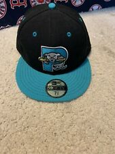 BNWT MiLB Portland Sea Dogs 5950 New Era 7 3/8 Hat Cap Throwback Marlins/Red Sox