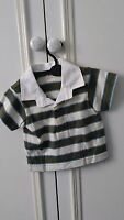 baby boys short sleeve t-shirt ex Marks and Spencers age 6-9 months