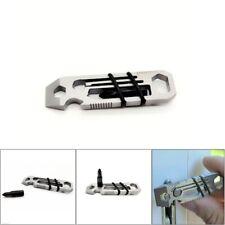 Tiny Ratchet EDC Multi-Tool Key-Chain 6 in 1 KeyChain Keyring Bottle Opener SH