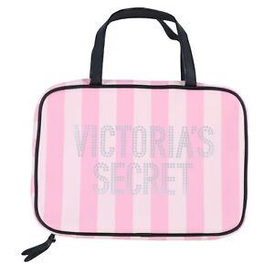 Victoria's Secret Hanging Cosmetic Bag Zipper Case Makeup Travel Zip New Nwt Vs