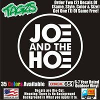 Joe Biden And The H*e Funny DieCut Vinyl Window Decal Sticker Car Truck SUV JDM