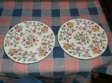 Minton Haddon Hall   2 Bread & Butter Plates 6 1/4 Inches Great Condition