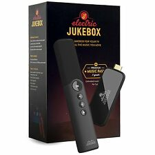 Electric Jukebox music system includes millions of albums for your TV Charcoal