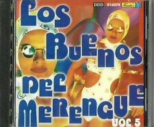Los Buenos Del Merengue Volume 5  Latin Music CD New