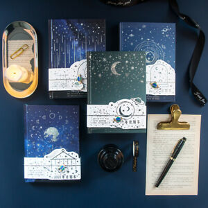 """""""Twinkle Star"""" Hard Cover Beautiful Planner Students Journal Diary Notebook Gift"""