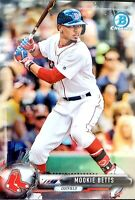 2017 Bowman Chrome Mookie Betts #63 Boston Red Sox - LA Dodgers