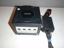 Nintendo Game Cube Console Black Console Only w/Power Supply DOL-001