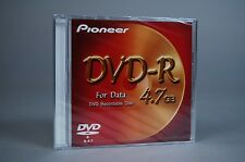 PIONEER DVD-R for Data 4.7 GB  NEW in ORIGINAL Packing