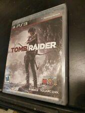 Tomb Raider (Sony PlayStation 3, 2013) Black Label New Sealed Ps3 Nib Mint