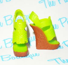 MONSTER HIGH SCARIS SKELITA CALAVERAS DOLL OUTFIT REPLACEMENT SANDALS SHOES ONLY