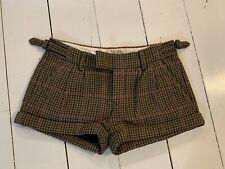 Jack wills tweed shorts size 8 Wool Mix Lady Dandy Winter Autumn