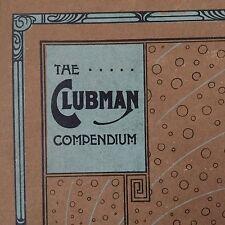 Reliure Compendium 1900 ART NOUVEAU Cover Book ARTS &CRAFTS SECESSION JUGENDSTIL