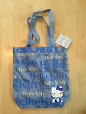 Hello Kitty Nylon Sac Fourre-tout pour enfants neuf avec étiquette
