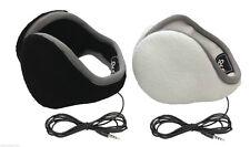180s Unisex 2-Pack Behind the Head Adjustable Ear Warmers W/ Built In Headphones