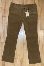 NWT AMERICAN RAG CIE Manhattan Tan Stretch Boot Cut Corduroy Pants Size 9