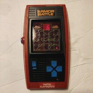 1978 Mattel Armor Battle Electronic Handheld Game/ Works