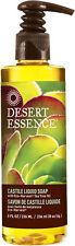 Castile Liquid Soap with Tea Tree Oil, Desert Essence, 8 oz