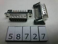 Harting DSUB15F 15pin D-SUB female connector for PCB angle Lot-5pcs