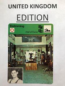 JOHNNY WEISSMULLER 1979 Sportscaster Card #13 064 88-22 TARZAN (U.K. Version)